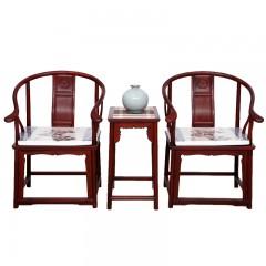 花枝(巴里黄檀)圈椅