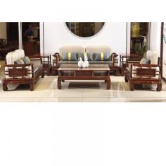 新中式沙发 6件套